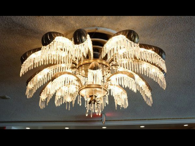 houston club auction january vintage chandeliers