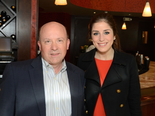 5 Dave Stumpf and Laura Max Nelson at the Dec My Room luncheon October 2014