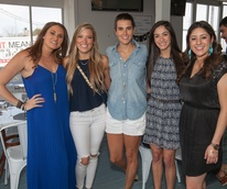 Durham House Brunch, March 2016, Elena Skinner, Holly Alvis, Kathryn Swain, Lauren Leal, Madyson Chavez