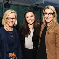 Ren Wagner, Jackie Edmonds, Natalie Steen at Dress for Success Models of Success