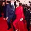 Tamara Mellon and Michael Ovitz at the Met Ball