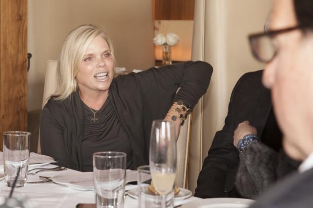 Valerie Sarofim at Neal Hamil's birthday party November 2014