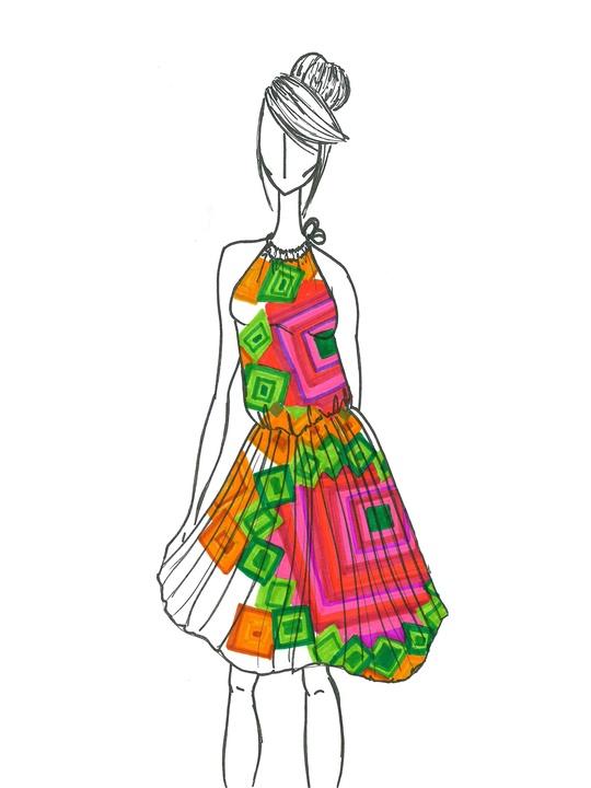 Fashion Week spring summer 2014 sketch Manel Jadraque of Desigual