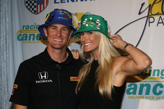 Yellow Party, Ryan Hunter-Reay, Beccy Hunter-Reay