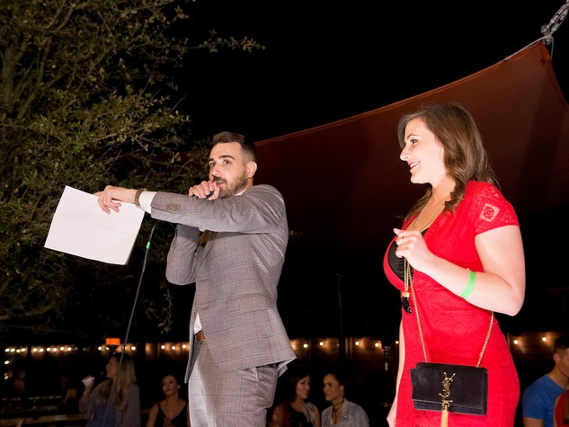 Houston, Red Buds Date Auction, Feb 2017, Steven Stone, Mandy McGowen