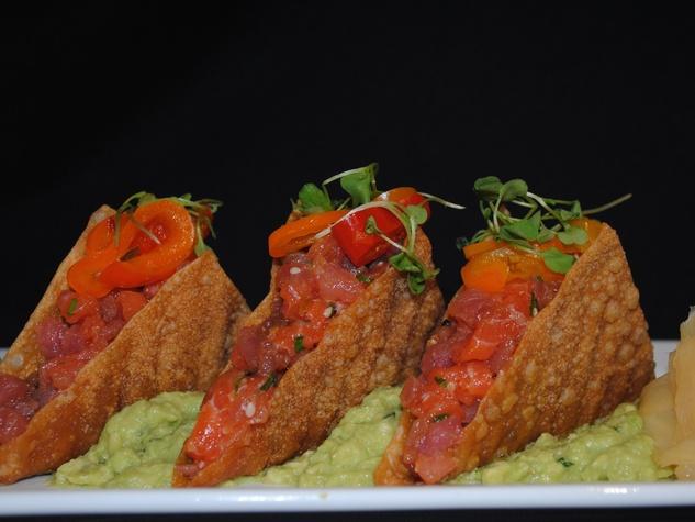 Method Marque tuna taco