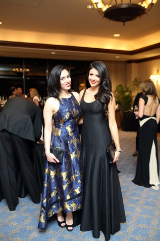 Denali Foundation gala, Feb. 2016, Sawsan Tabel, Dr. Nisa Dadjoo