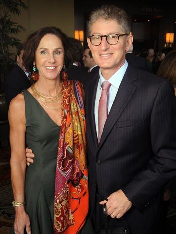 29 Heidi and David Gerger at the Guardian luncheon November 2013