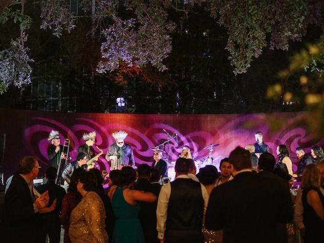 Jared + Diana emerald city band