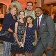 News Houston Children's Charity Gathering of Champions, Edna Meyer-Nelson, Lexi Tidwell, Addie Tidwell, Jason Tidwell & Chester Pitts, April 2014