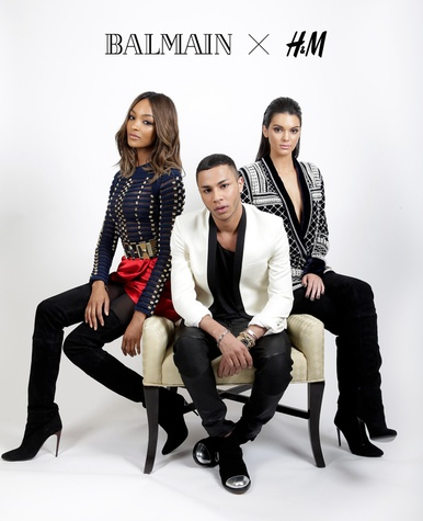 Balmain H&M collaboration