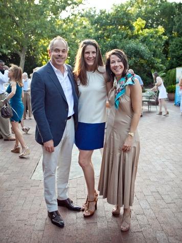 Robert Bennett, Lori Green, Kay Lunceford, 2013 Dallas Spring Party