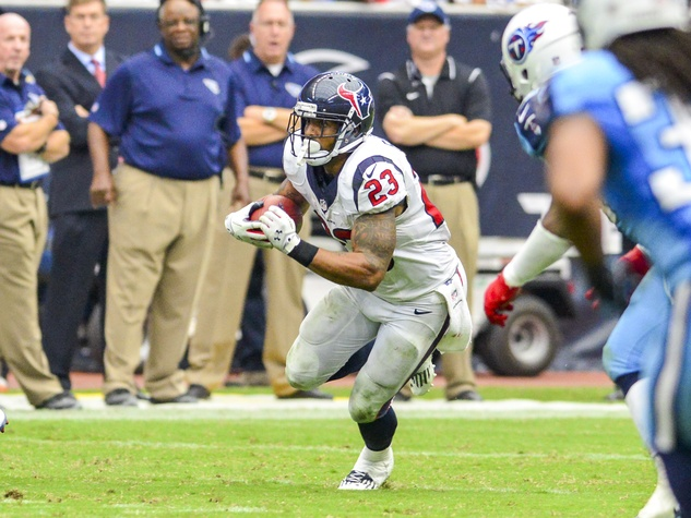 Arian Foster Texans Titans run