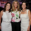 From left Cherie Flores, Janet Hobby and Kate Gibson, Toast the Coast Nature Conservancy Gala