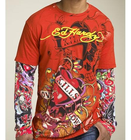 Ed Hardy shirt worst gifts