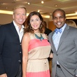 47 Jonathon Glus, from left, Deborah Elias and Alton LaDay at the HFAF at Neiman Marcus Art of Fashion September 2014