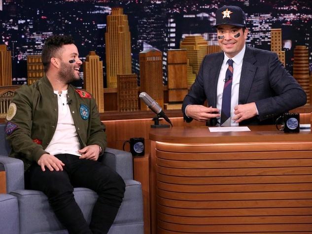 Jose Altuve on Tonight Show with Jimmy Fallon