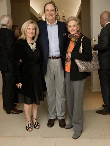 Dawn Bergan, Kelly Hardage and Marilyn Rolnick Tonkon, culp as 40 year celebration