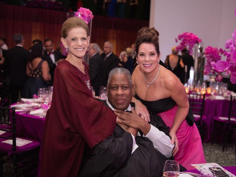 Museum of Fine Arts Grand Gala Ball, Annette de la Renta, Andre Leon Talley, Cherie Flores