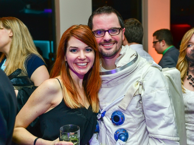 Cay and Glenn Taylor at the Young Professionals Backstage party January 2014