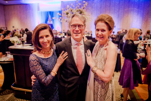 27 Nancy McGregor, from left, with Stephen and Betty Newton at the Planned Parenthood Gala October 2014