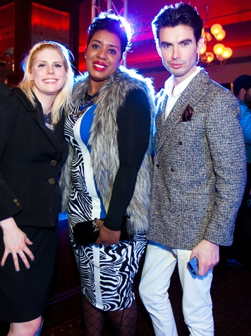 Andrea Elaine Pearson Hass, Shanta Quilette Williams, Michael Rodriguez, fashionistas fashion friday