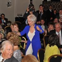 Rita Moreno at the Houston Arts Alliance event with Rita Moreno May 2014