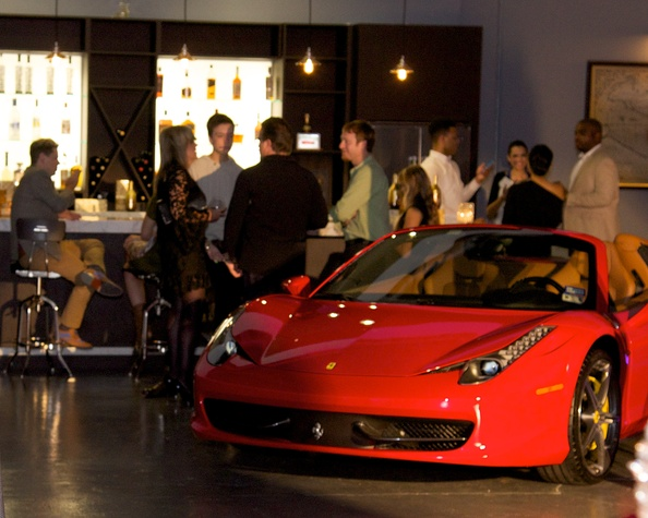 Cars at Fashion Woodlands preview party