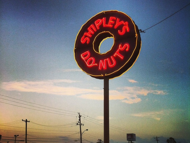 Shipley's Do-Nuts neon sign