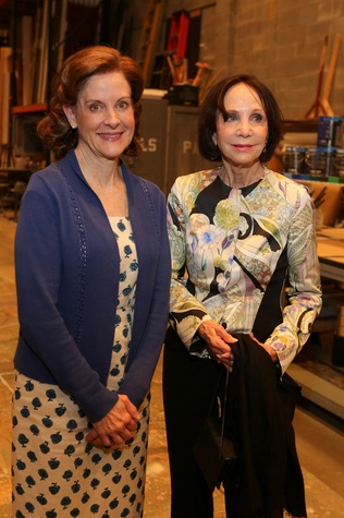 News, Shelby, Alley Theatre opening night dinner, August 2014, Hallie Foote, Cornelia Long
