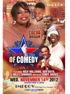 "Comedy: ""Houston All Stars of Comedy - Vol. 7"""