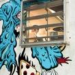 Pi Pizza truck food truck window logo RUN FLAT