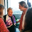 Wendy Watriss and Pavel Bank at Slavka Glaser's FotoFest reception March 2014