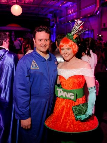 042 Jared LeBlanc and Caroline Starry LeBlanc at the Fresh Arts Space Ball March 2014