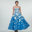 Oscar de la Renta 2018 resort collection blue gown