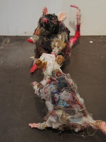 10, Texas Contemporary Art Festival, wrap up, October 2012, Robb Putnam, Rat #4, Rat #5, 2012