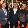 18 Michael Bickham, from left, Lenny Matuszewski and Anthony Dowd at The Nutcracker Market preview party November 2014