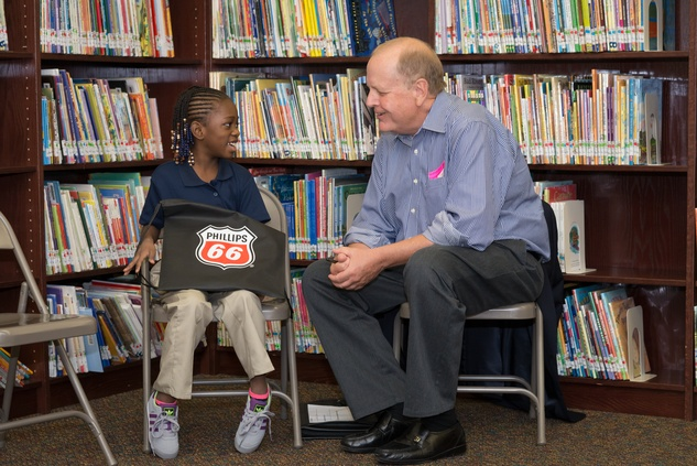 News, Shelby, AdvoCare reading event, August 2014, Mike Kenney