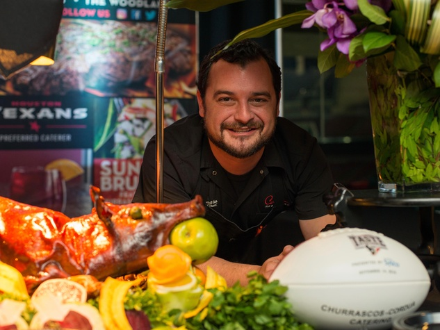 Taste of the Texans Churrascos David Cordua