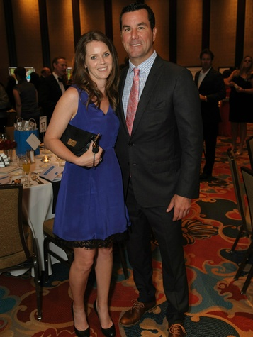 Honorary chairs Kelly and Marty Turco, former NHL All-star and Olympic goalie, a legendary evening