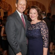 3 David and Tara Wuthrich at the Men of Distinction kick-off party February 2014