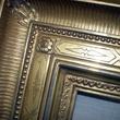 Hand carved, 22K gold leaf frame at Wildman Art Framing in Dallas