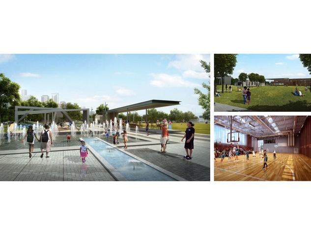 12, Emancipation Park, rendering