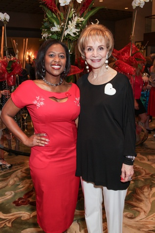 16 Sharron Melton, left, and Leisa Holland Nelson at the Best Friends Brunch benefiting aniMeals on Wheels February 2015