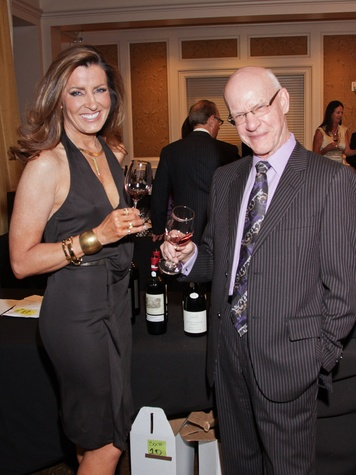 Caroline and Gary Kenney at the Best Cellars dinner.