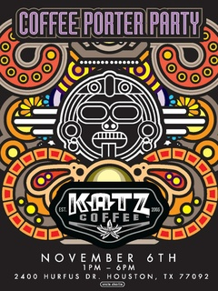 Katz Coffee and Real Ale Brewing Co. present Coffee Porter Party