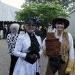 3400 Stella Grace, left, and Josephine Katherine Ellis at the Houston Heritage Society luncheon April 2014