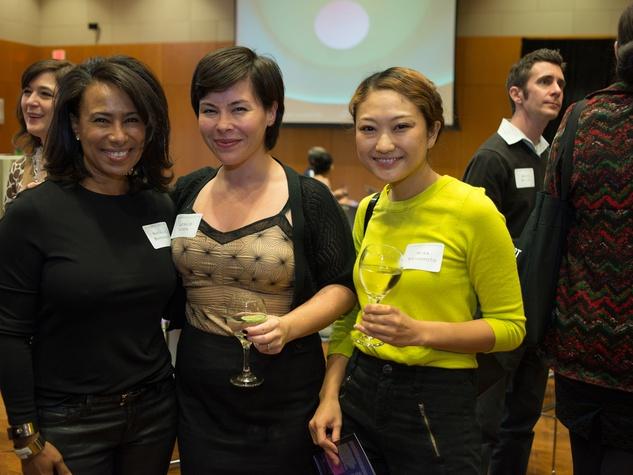 Private Reception Honoring James Turrell Natalie Bardagjy; Leslie Lyon-House; Misa Yamamoto
