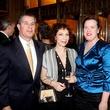 Leo Sayavedra, from left, Sarah Rothenberg and Laura Sayavedra at the Da Camera Gala April 2014
