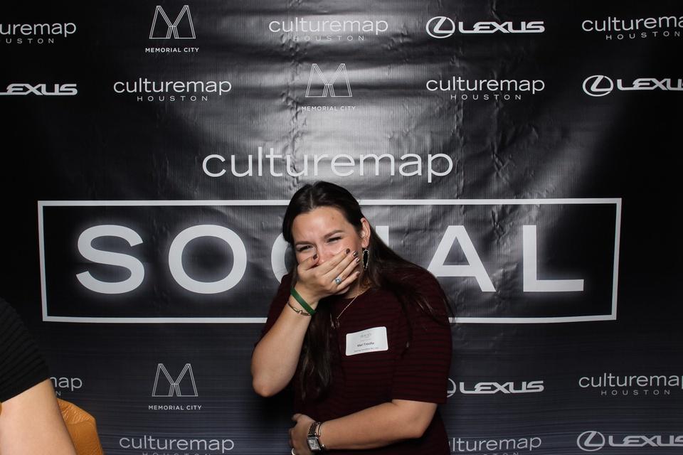 Smilebooth at CultureMap Social at Gateway November 2014
